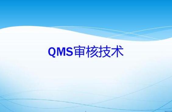 QMS审核