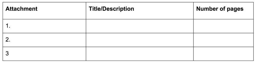 FDA附录2清单