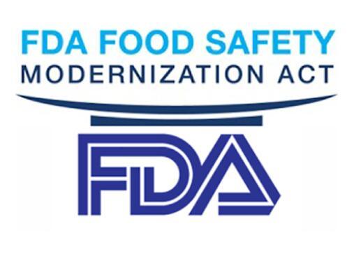 FDA认证食品安全现代化法(FSMA)