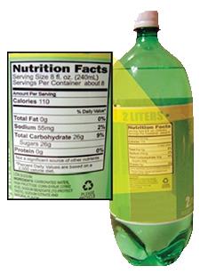 碳酸软饮料容器标签要求